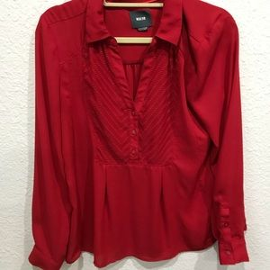 Anthropologie Maeve blouse - size 10